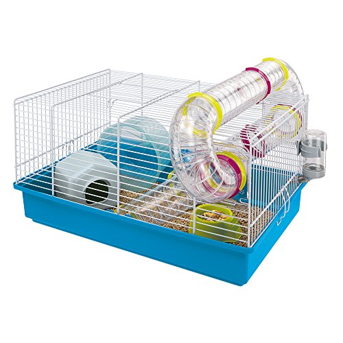 "Ferplast Hamster Cage, White, 11.61 x 9.65"""