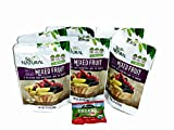 Natural Freeze Dried Mix Fruit 6 packages INCLUDES Organic Fruity Bites