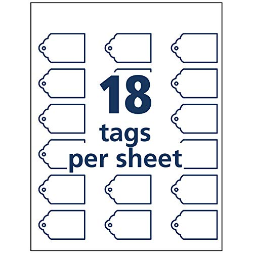 photo regarding Printable Tags With Strings referred to as Jual Avery Scalloped Printable Tags for Inkjet Printers Merely