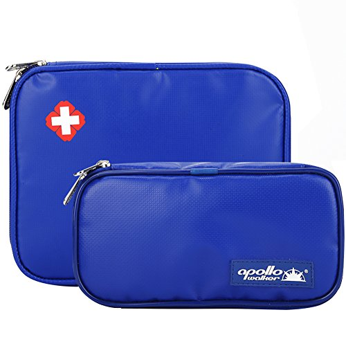 Apollo Walker Portable Medical Travel Cooler Bags Insulin Cooler Cases With Ice Packs  2 Size Package