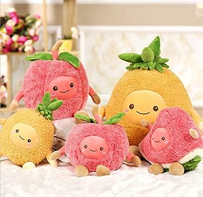WYBL Moda Felpa pequeña Fruta Linda muñecas Navidad ...