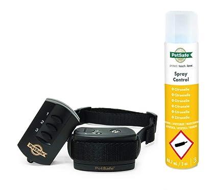 2a4fa0bf2ff0b4 PetSafe Recharge Spray Anti-Aboiement, 300-400 jets, Formule Ecologique,  Compatible avec Collier de dressage à jet Inodore  Amazon.fr  Animalerie