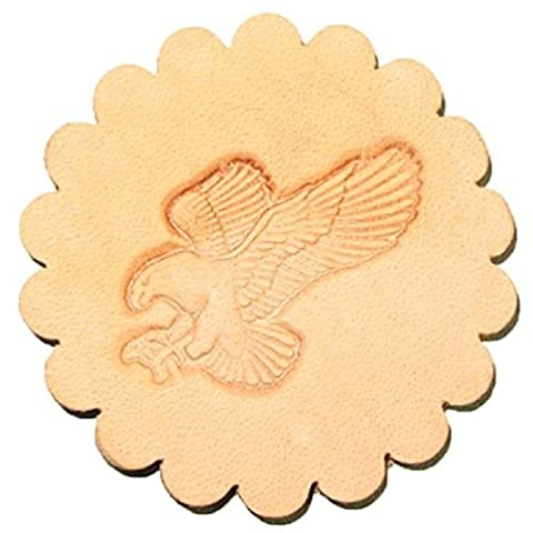 3-D Leather Stamp Attack Eagle 8514-00