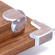 Corner Protector, Baby Proofing Table Corner Guards, Soft and Transparent Edge Protectors with High Resistant