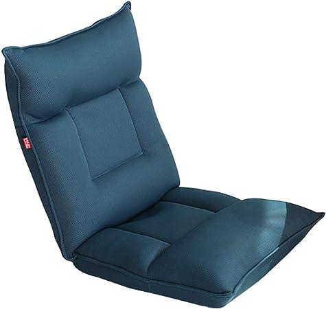 Chaise au Sol Pliable rembourré Sol Chaise intégrée Coussin