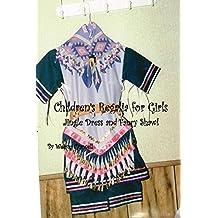 Children's Regalia for Girls Jingle Dress and Fancy Shawl
