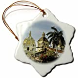 Angel Ornaments Danita Delimont - Colombia - Historic Spanish colonial fort, Old City of Cartagena, Colombia. - inch Snowflake Porcelain Ornament