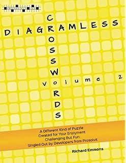 Diagramless Crosswords Volume 3 Emmons Richard 9780986331244 Amazon Com Books