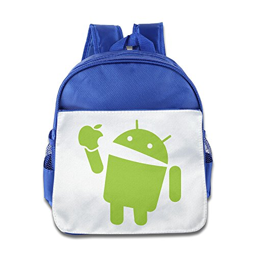 greenday-robot-android-eat-green-apple-child-cute-backpack-royalblue