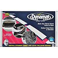 "Dynamat 10455 18"" x 32"" x 0.067"" Thick Self-Adhesive Sound Deadener with Xtreme Bulk Pack, (Set of 9)"