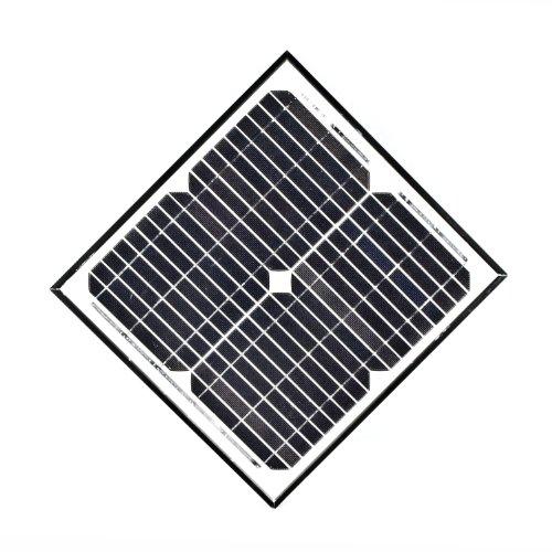 ALEKO SPU15W12V 15 Watt 12 Volt Monocrystalline Solar Panel for Gate Opener Pool Garden Driveway