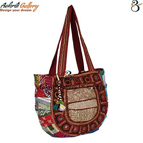 Aakriti Gallery, Borsa tote donna multicolore Multicolor