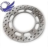 Wotefusi Motorcycle Rear Brake Disc Rotor For Suzuki TS125 1990-1996 1991 1992 1993 1994 1995 TS200 1989-1994 DR250 DR350 (Do not fit for 1995 Suzuki dr350 street.)