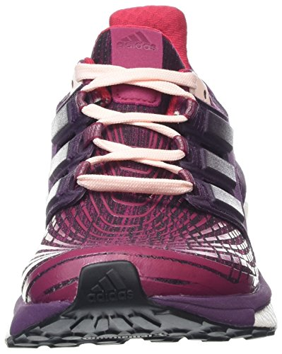 Scarpe Da Running Adidas Energy Boost Da Donna - Ss18 Rosso / Nero