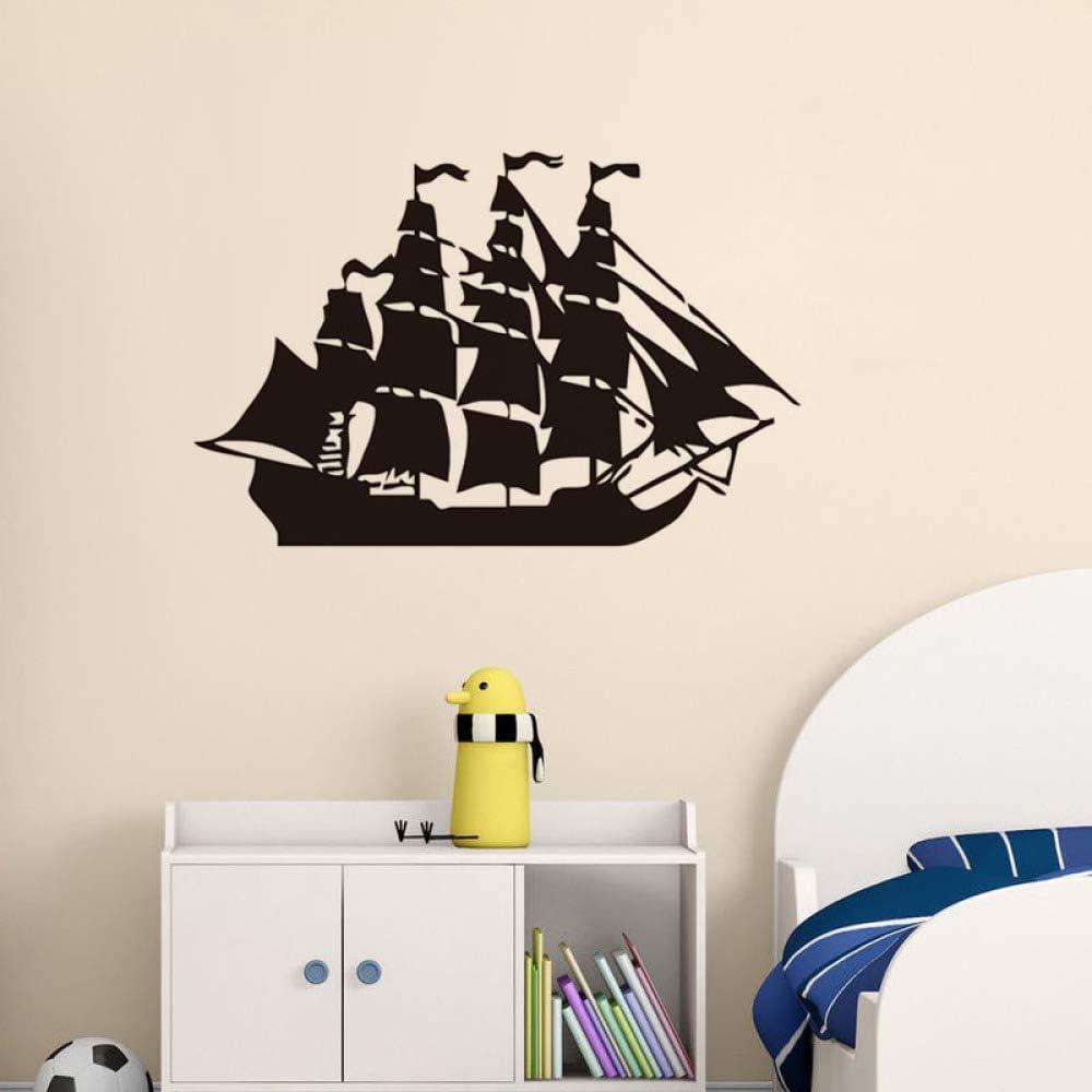 HNXDP Arte Diseño Barco Pirata Tatuajes de Pared Para Vivero ...