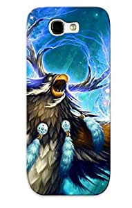 Crazinesswith High-quality Durability Case For Galaxy Note 2(world Of Warcraft) BY icecream design