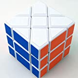 YJ Square King Puzzle Cube White