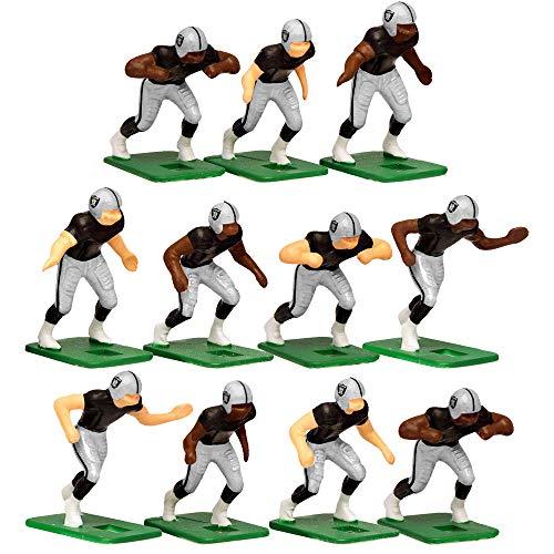 Oakland RaidersHome Jersey NFL Action Figure Set