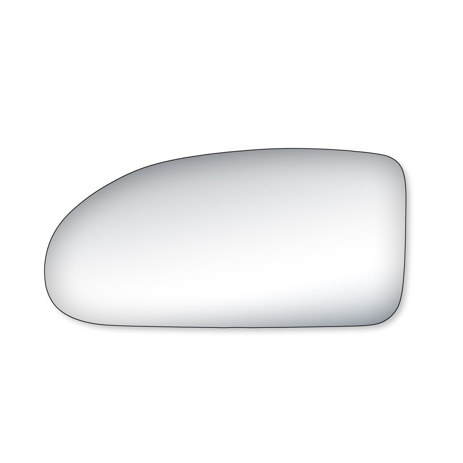 Fit System 99151 Ford Focus Driver/Passenger Side Replacement Mirror Glass