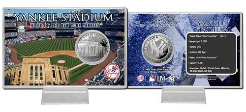 New York Yankees Yankee Stadium Silver Coin Card