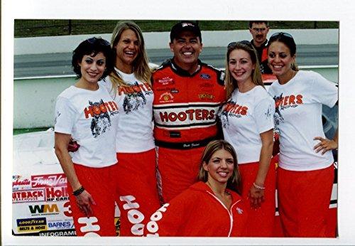 (Brett Bodine NASCAR Race Photo Watkins Glen International Hooters 4