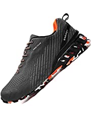 CLZVK Sneakers Shoes for Men Running Tennis Mens Air Athletic Sport Men's Walking Jogging Shoe Male Trail Runner Big Size for Wide Width Fat Feet Foot Outdoor Man Tenis Hiking Slip On
