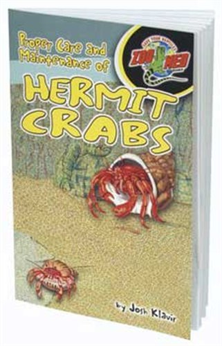 Zoo Med Laboratories SZMZB40 The Proper Care of Hermit Crabs Book (Med Zoo Corner)
