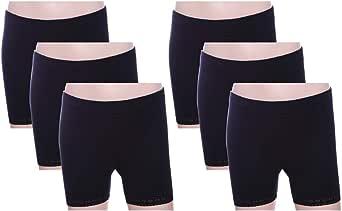 ماريبوسا سروال داخلي قصير اسود -بنات