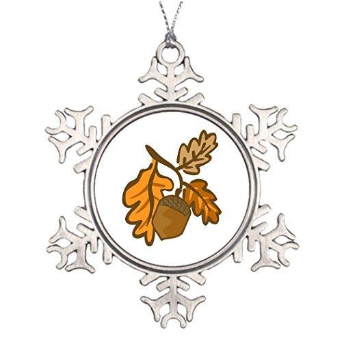 Zora Camp Acorn Embellishment Ideas for Decorating Christmas Trees Snowflake Ornament