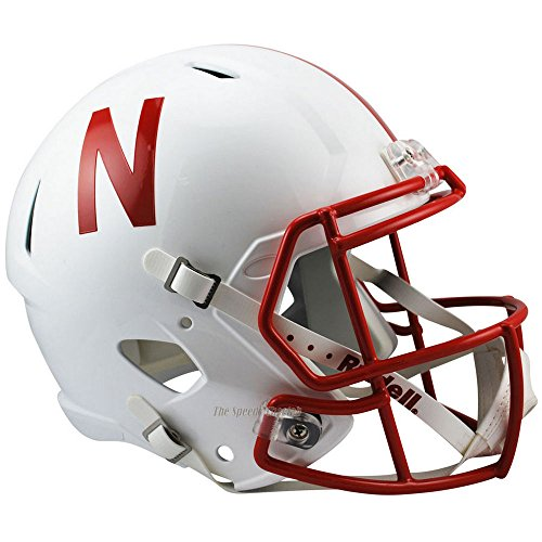 Nebraska Cornhuskers Officially Licensed NCAA Speed Full Size Replica Football Helmet by Riddell