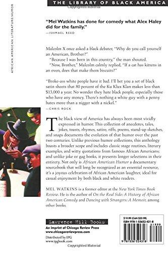 African american humor the best black comedy from slavery to today african american humor the best black comedy from slavery to today the library of black america series mel watkins dick gregory 9781556524318 fandeluxe Images