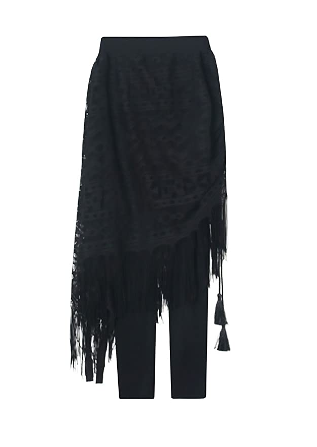 Pantalon Mujer Cintura Alta Push Up Slim Fit Con Encaje Elegante ...