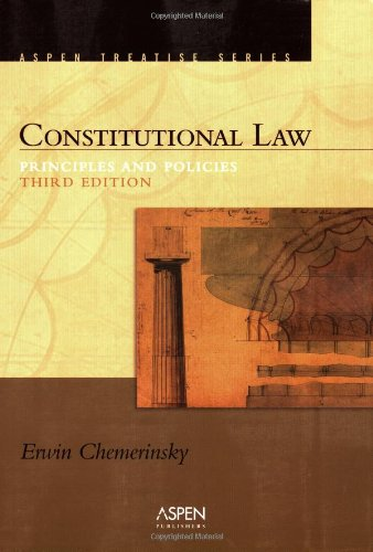Pdf Law Constitutional Law: Principles And Policies (Introduction to Law Series)
