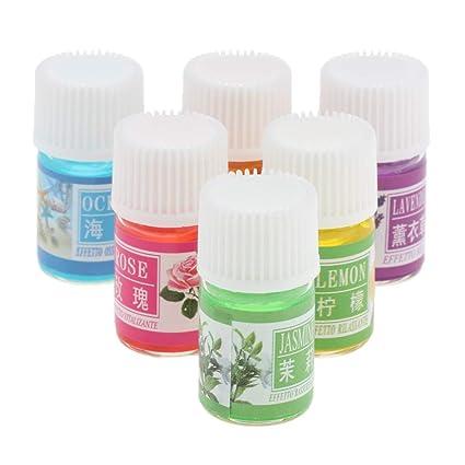 B Baosity 6 Pedazos Botellas para Estufas de Aromaterapia,Armarios, Humidificadores,Barras de