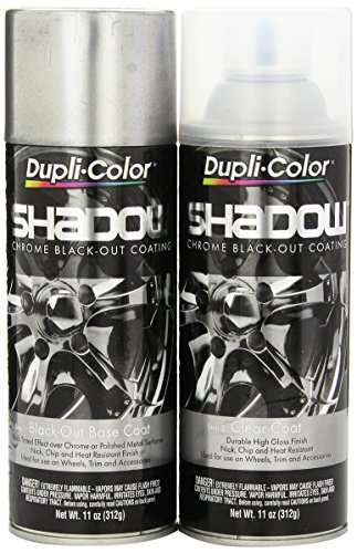 (Dupli-Color ESHD10007 Shadow Chrome Black-out Coating Kit)