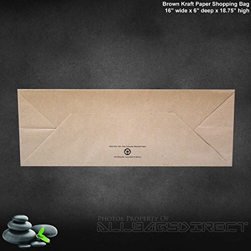 Fsc Certified Paper Based Composite Material: Brown Kraft Paper Bags 95% POST