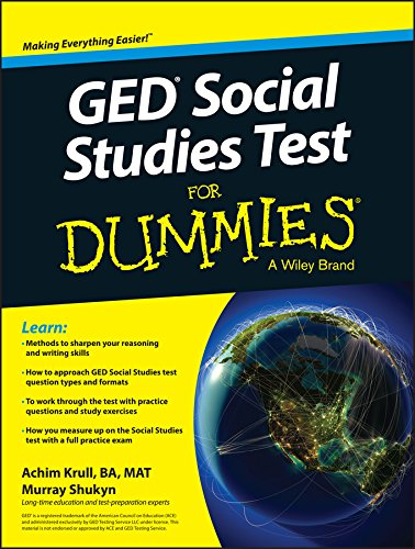 GED Social Studies For Dummies