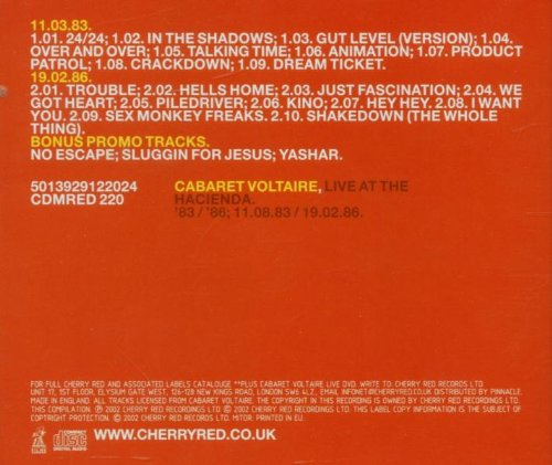 Live at the Hacienda 83-86 by Cherry Red UK (Image #1)