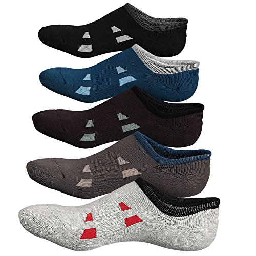 Mens No Show Trainer Socks,Non Slip Running Invisible Liner Crew Socks US Shoe 6-11
