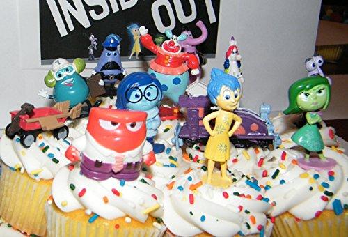 Disney Pixar Inside Out Movie Figure Set Cake Toppers