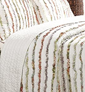 Greenland Home Bella Ruffle Quilt Set by Greenland Home