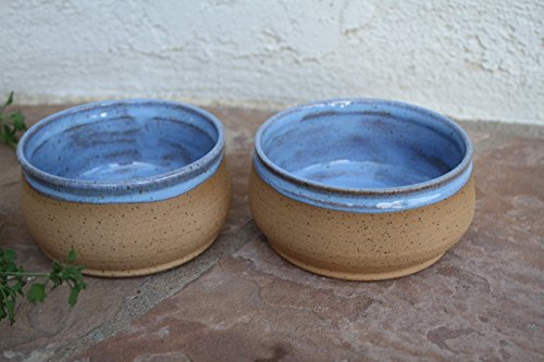 soup-bowl-set-handmade-blue-ceramic-serving-dish-rice-or-salad-bowls-rustic-modern-kitchen-pottery