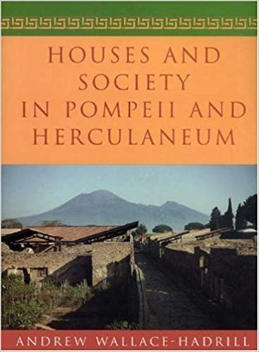 Book Houses and Society in Pompeii and Herculaneum by Andrew Wallace-Hadrill (1994-05-02)