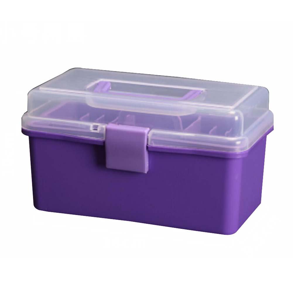Amazon.com: DRAGON SONIC Multipurpose Portable Home Storage Box Toolkit  Toolbox Medicine Box,Purple: Home U0026 Kitchen
