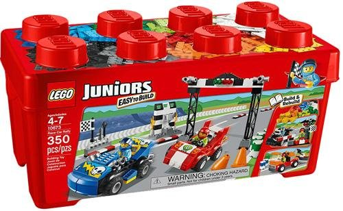 with LEGO Juniors design