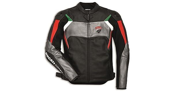Amazon.com: Dainese Ducati Corse C3 - Chaqueta de piel ...