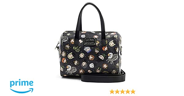 Loungefly x Harry Potter Chibi Character Print Duffel Purse (One Size ffd39edfee5a5