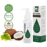 Extra Virgin Coconut Oil by OTVENA™ | 100ml Cold Pressed Rich in Fatty Acids With Vitamin E & K | Beauty Grade Carrier Oil for Aromatherapy, Massage, Moisturizing Skin and Hair