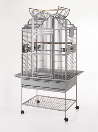 Parrot Cage Macaw Cockatoo African Grey Bird Cage Q39-322...