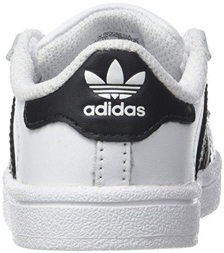 I ftwbla Superstar De Niños Adidas Deporte negbas Para 000 ftwbla Zapatillas Blanco FqUfwp6
